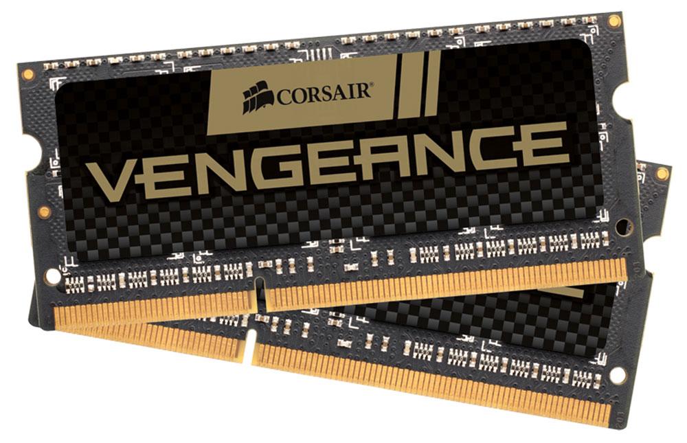 Комплект модулей оперативной памяти Corsair Vengeance DDR3 2x4Gb 1600 МГц для ноутбука (CMSX8GX3M2A1600C9) процессоры для ноутбуков сравнение