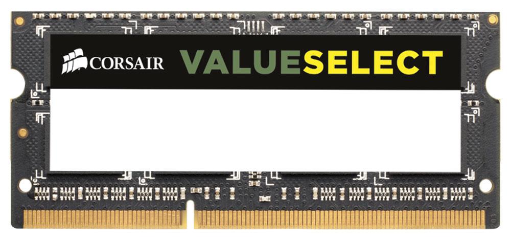 Модуль оперативной памяти Corsair ValueSelect DDR3 4Gb 1333 МГц для ноутбука (CMSO4GX3M1A1333C9)