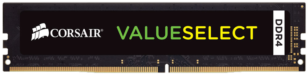 Модуль оперативной памяти Corsair ValueSelect DDR4 8Gb 2133 МГц (CMV8GX4M1A2133C15) corsair valueselect so dimm ddr4 8gb 2133 мгц модуль оперативной памяти cmso8gx4m1a2133c15