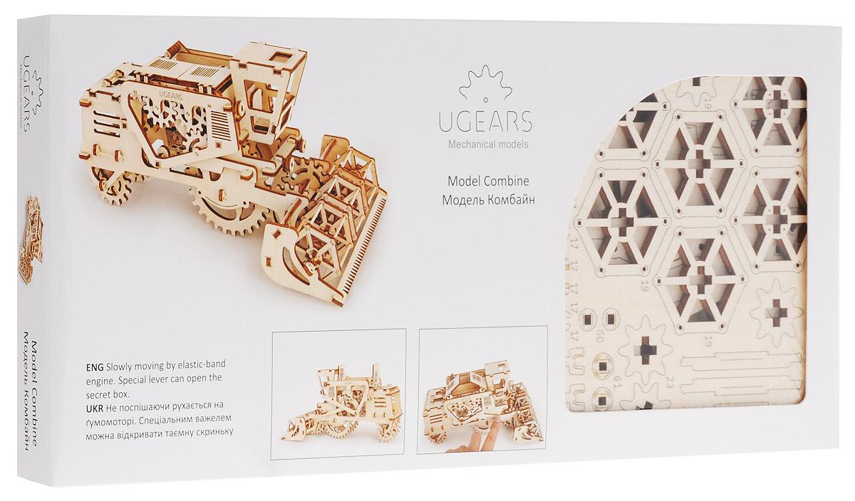 Ugears Деревянная модель Комбайн ugears сборная деревянная модель манипулятор на рельсах