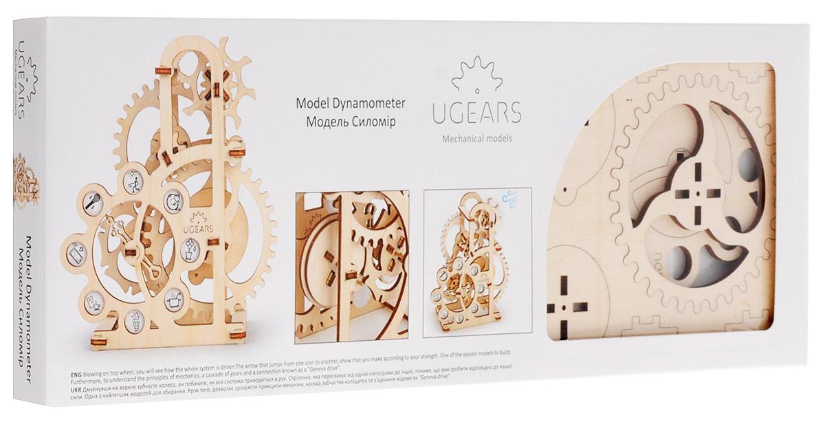 Ugears Деревянная модель Силомер ugears сборная деревянная модель манипулятор на рельсах