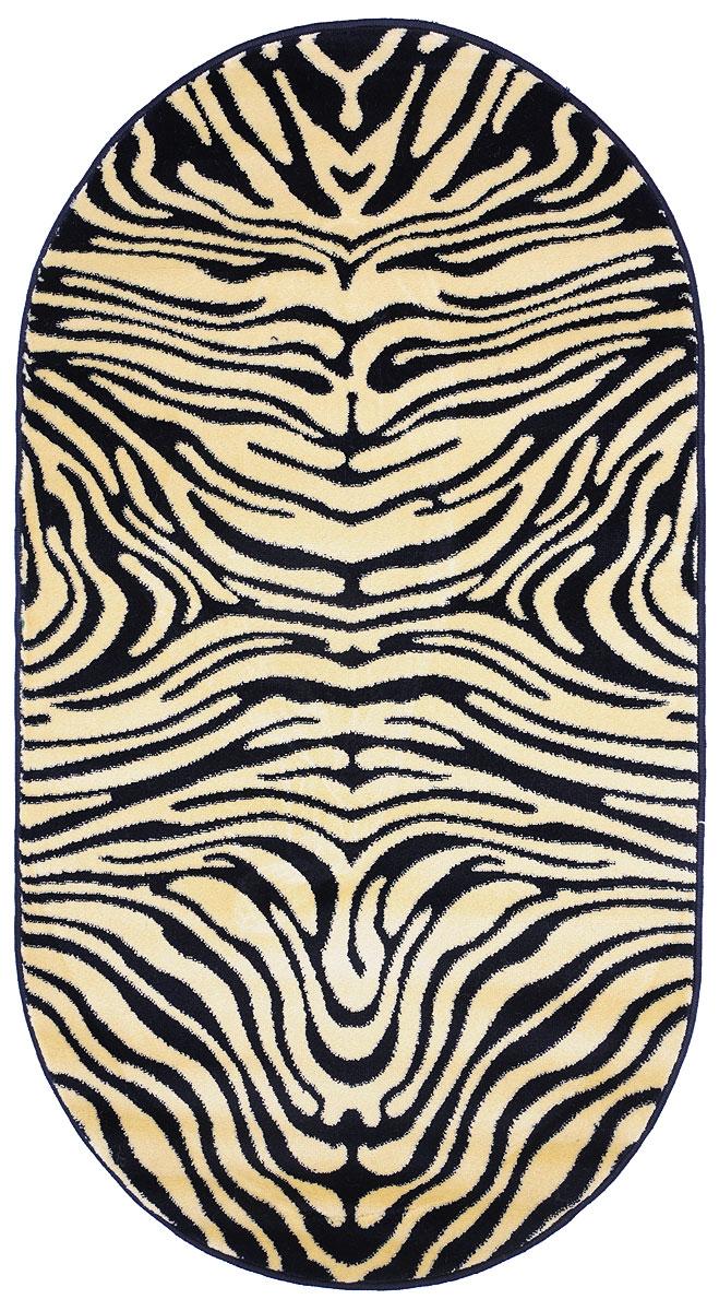 Ковер Kamalak Tekstil, овальный, 80 x 150 см. УК-0035 ковер kamalak tekstil прямоугольный цвет кремовый 100 x 150 см ук 0400