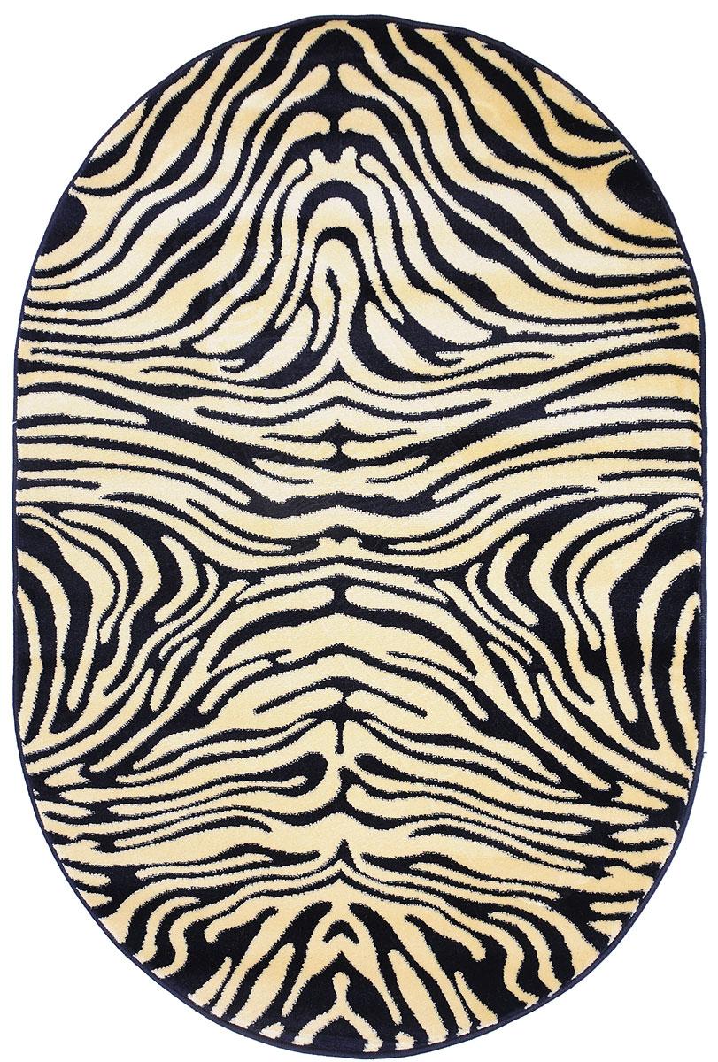 Ковер Kamalak Tekstil, овальный, 100 x 150 см. УК-0033 ковер kamalak tekstil прямоугольный цвет кремовый 100 x 150 см ук 0400