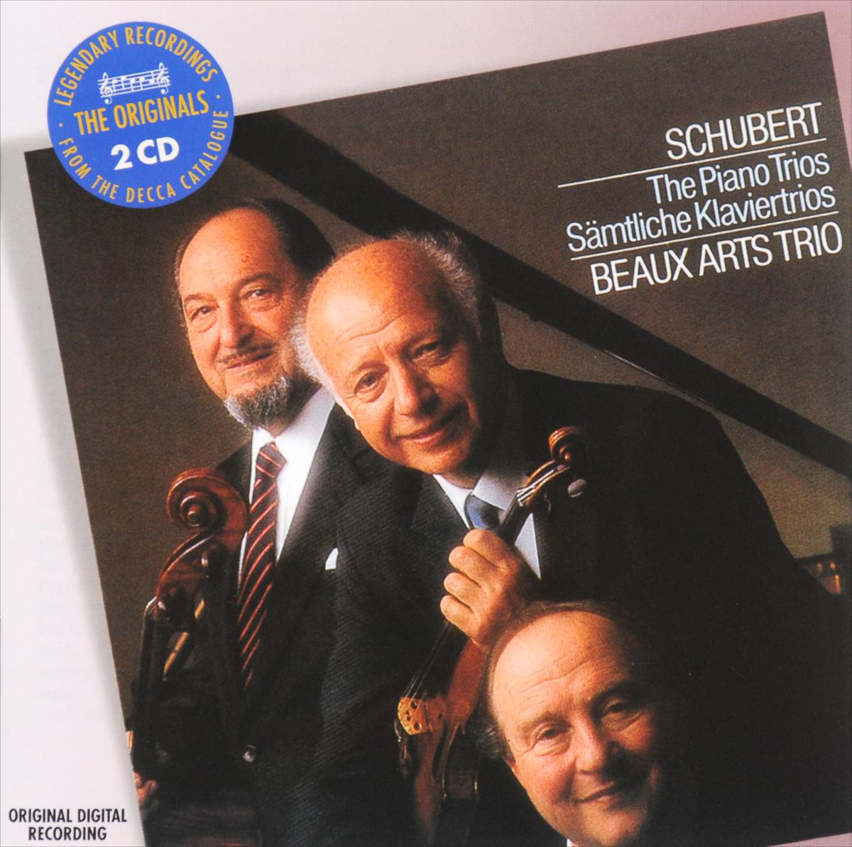 Beaux Arts Trio Beaux Arts Trio. Schubert. The Piano Trios (2 CD) bobo stenson trio serenity 2 cd