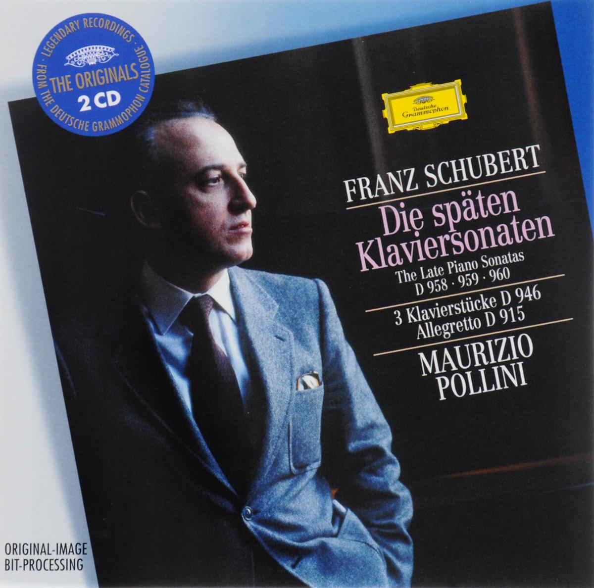 Маурицио Поллини Maurizio Pollini. Schubert. The Late Piano Sonatas D 958-960 (2 CD)
