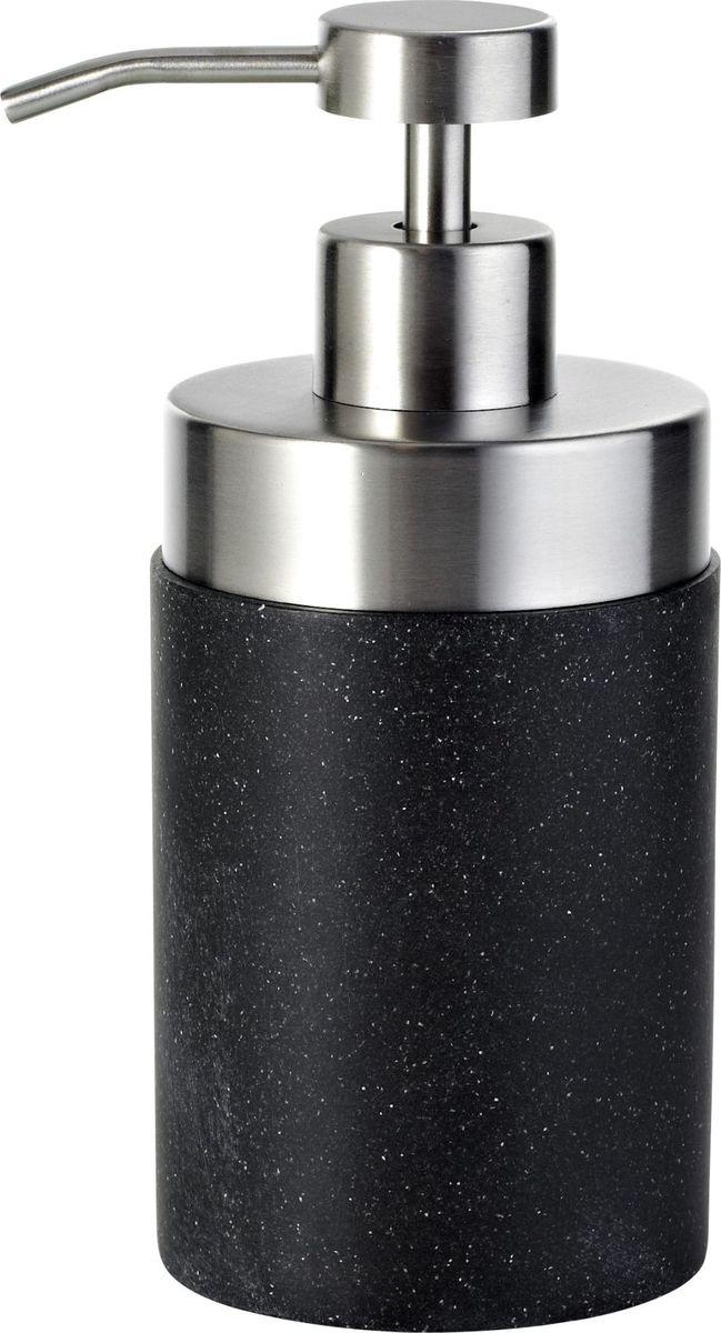 """Дозатор для жидкого мыла Ridder """"Stone"""", цвет: черный"""