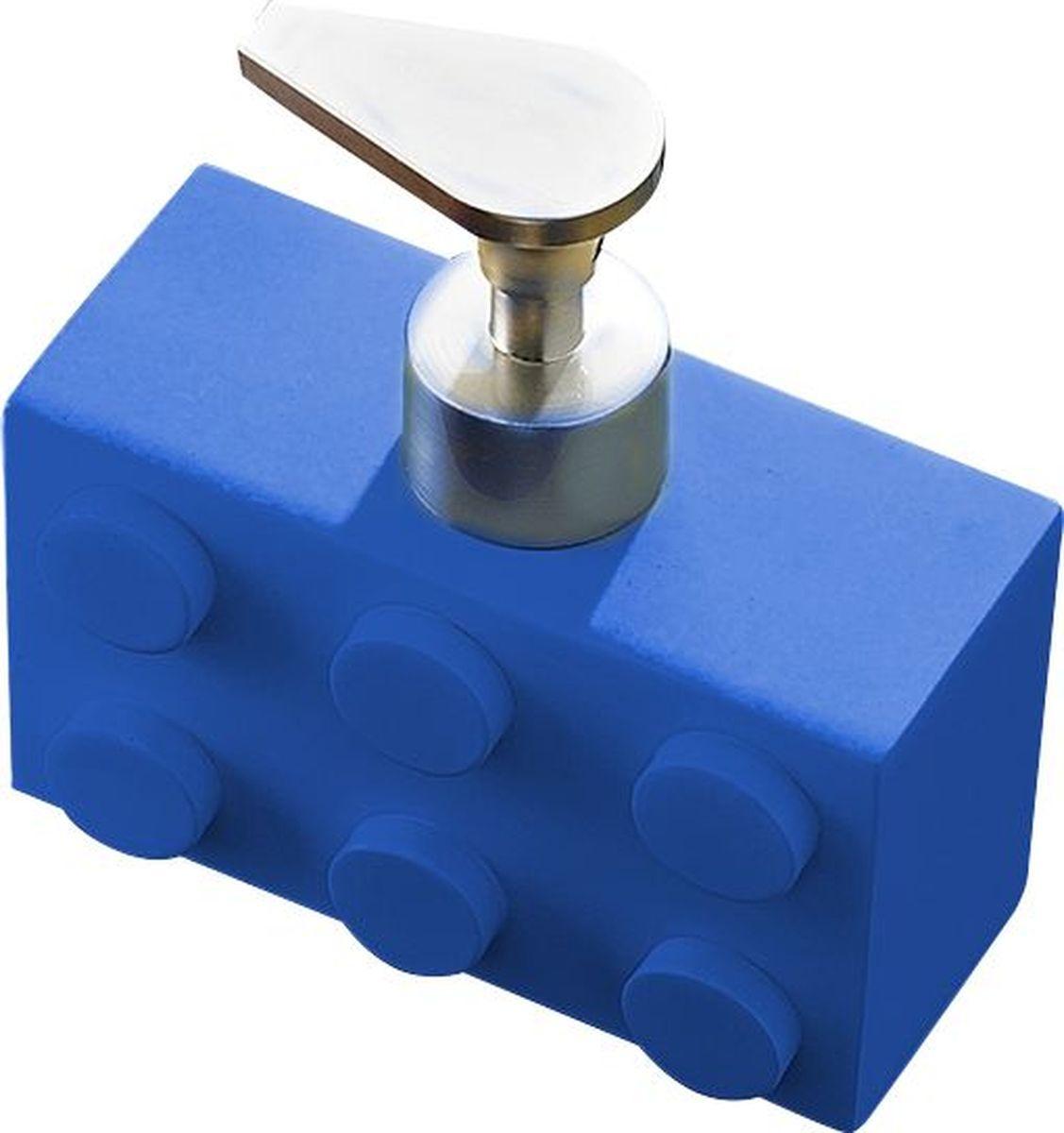 Дозатор для жидкого мыла Ridder Bob, цвет: синий, 280 мл дозатор для жидкого мыла ridder elegance цвет черный