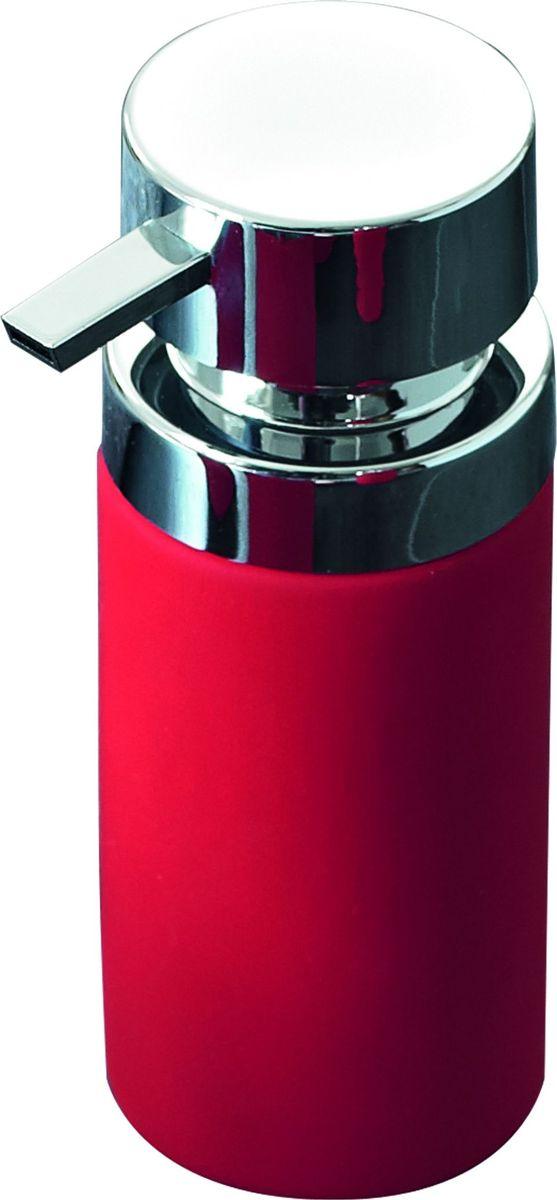 Дозатор для жидкого мыла Ridder Elegance, цвет: красный дозатор для жидкого мыла ridder elegance цвет черный