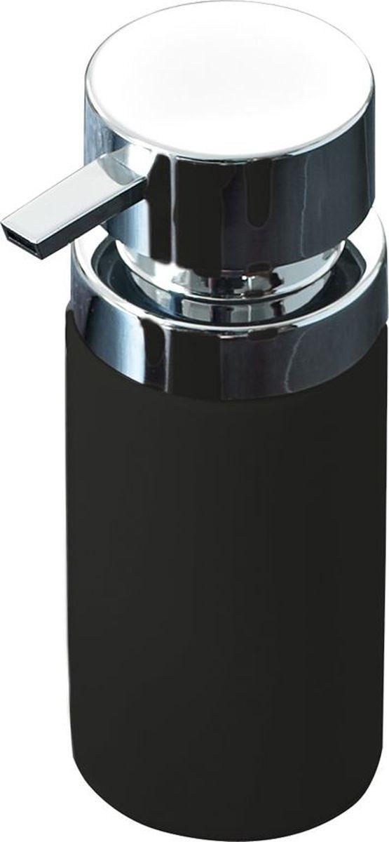 Дозатор для жидкого мыла Ridder Elegance, цвет: черный дозатор для жидкого мыла ridder elegance цвет черный