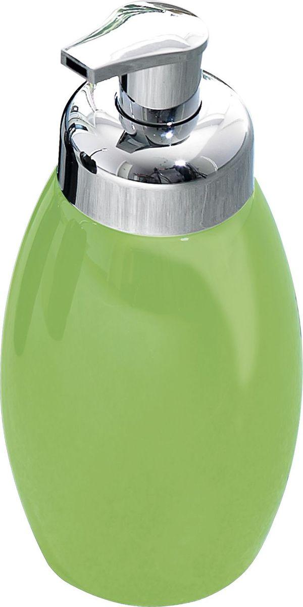 """Дозатор для жидкого мыла Ridder """"Shiny"""", цвет: зеленый"""