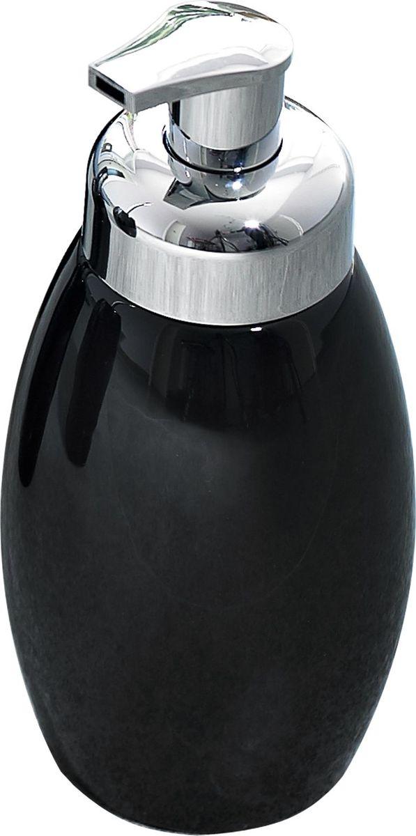 """Дозатор для жидкого мыла Ridder """"Shiny"""", цвет: черный"""