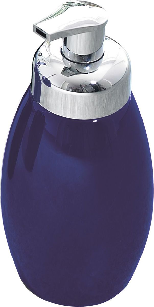 Дозатор для жидкого мыла Ridder Shiny, цвет: синий