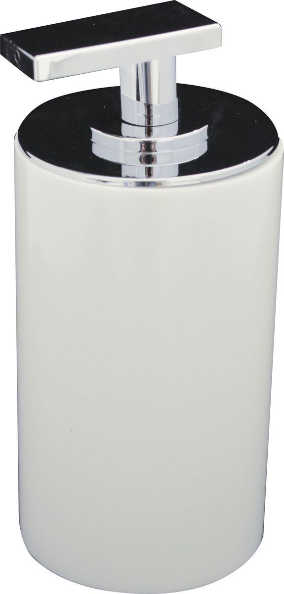 Дозатор для жидкого мыла Ridder Paris, цвет: белый, 200 мл дозатор для жидкого мыла ridder elegance цвет черный