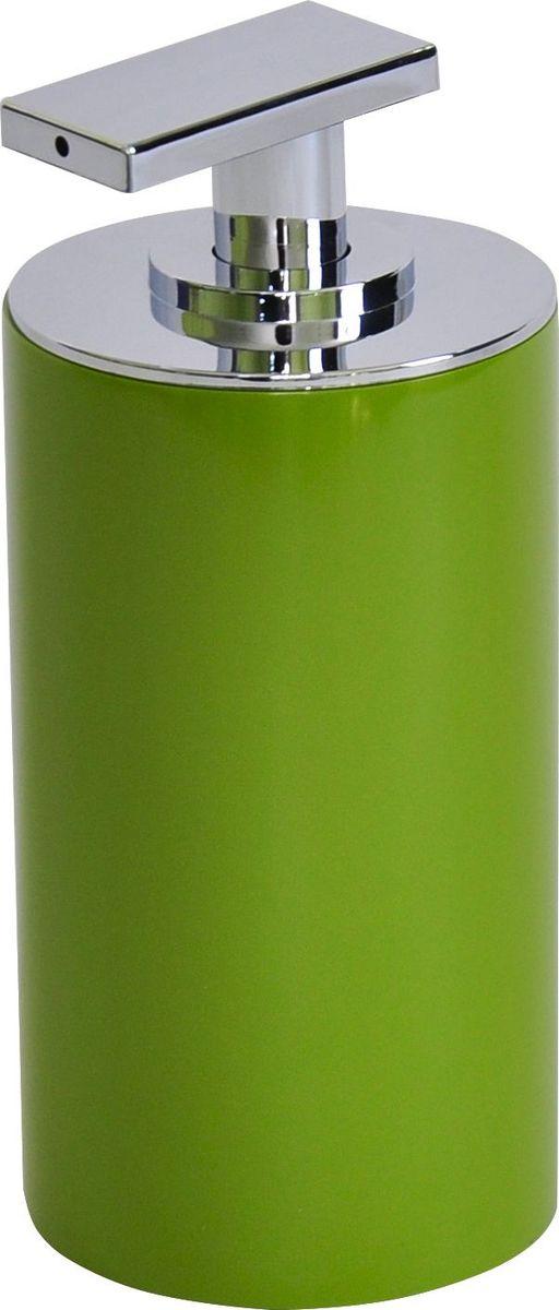 Дозатор для жидкого мыла Ridder Paris, цвет: зеленый, 200 мл дозатор для жидкого мыла ridder elegance цвет черный