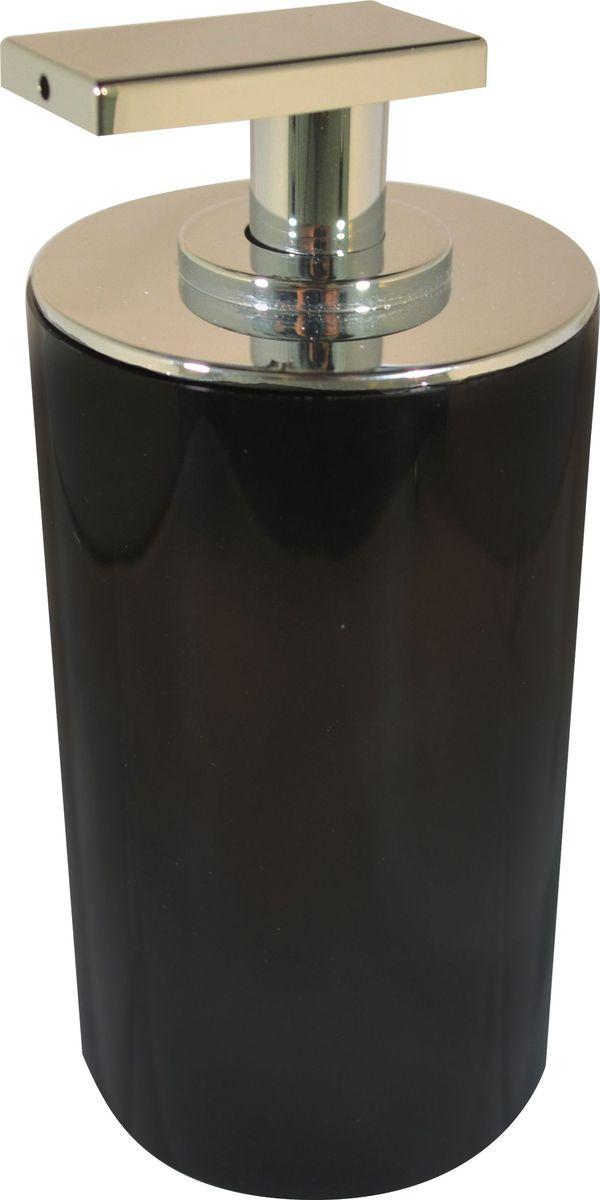 Дозатор для жидкого мыла Ridder Paris, цвет: черный, 200 мл дозатор для жидкого мыла ridder elegance цвет черный