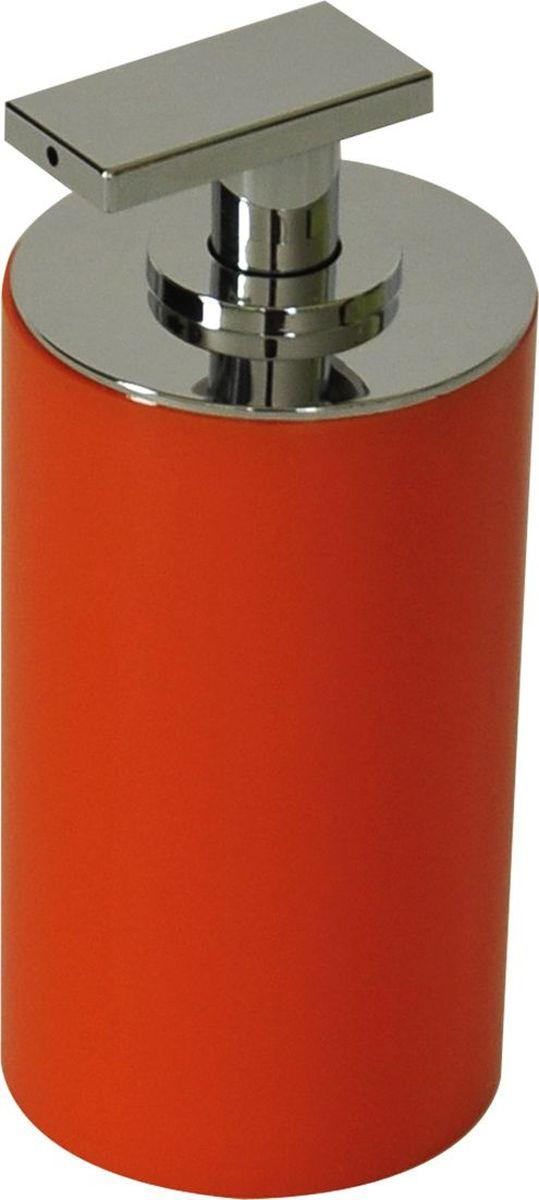 Дозатор для жидкого мыла Ridder Paris, цвет: оранжевый, 200 мл дозатор для жидкого мыла king tower цвет серый 12349