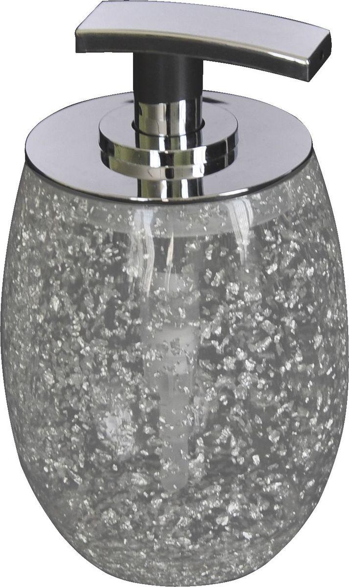 """Дозатор для жидкого мыла Ridder """"Danzig"""", цвет: серебряный"""