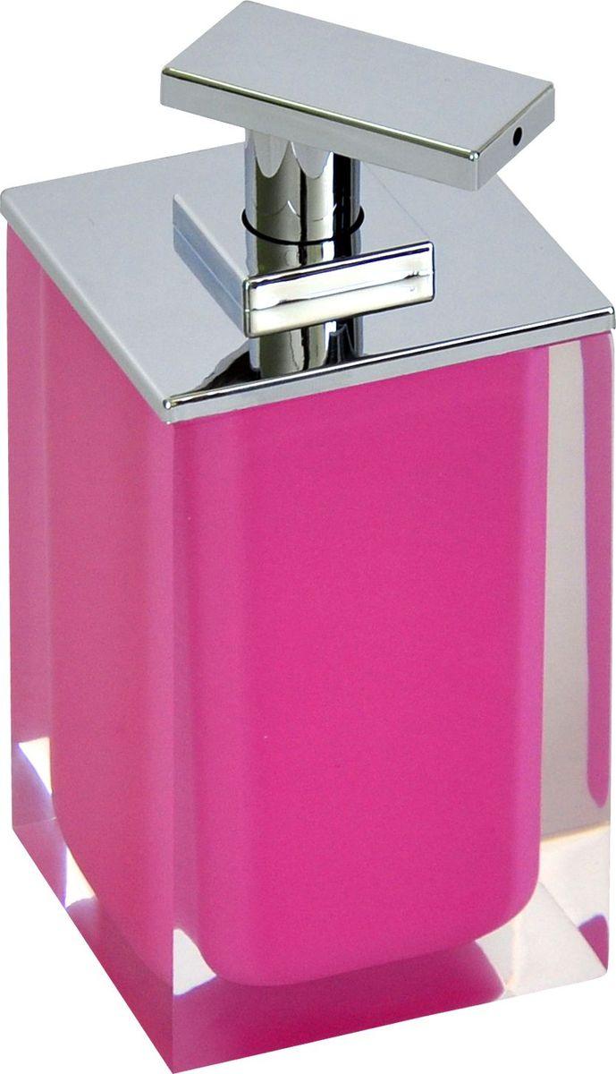 """Дозатор для жидкого мыла Ridder """"Colours"""", цвет: розовый, 300 мл"""