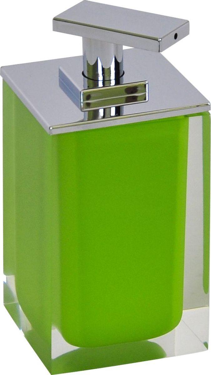 Дозатор для жидкого мыла Ridder Colours, цвет: зеленый, 300 мл дозатор для жидкого мыла ridder elegance цвет черный