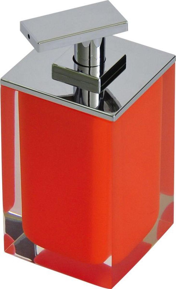 """Дозатор для жидкого мыла Ridder """"Colours"""", цвет: оранжевый, 300 мл"""