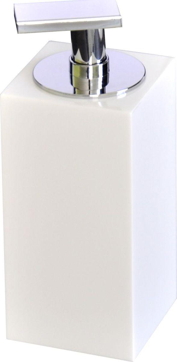 Дозатор для жидкого мыла Ridder Rom, цвет: белый