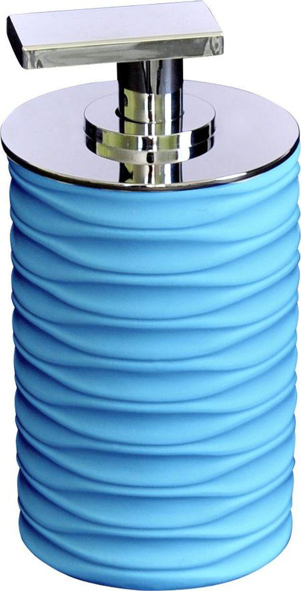 Дозатор для жидкого мыла Ridder Swing, цвет: синий