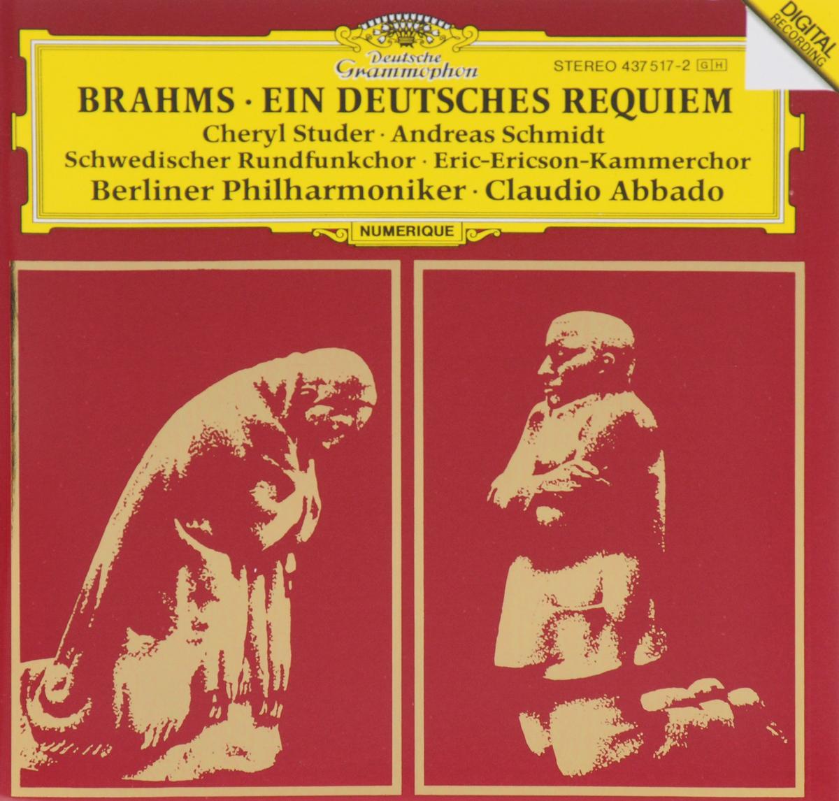 Клаудио Аббадо,Berliner Philharmoniker,Schwedischer Rundfunkchor Claudio Abbado, Berliner Philharmoniker. Brahms. Ein Deutsches Requiem саймон хелси мария тодтенхаупт йерг штродтофф berliner rundfunkchor simon halsey morgenlicht