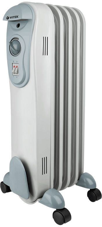 Vitek VT-2120(GY) радиатор масляный радиатор vitek vt 1707 w 1000 вт термостат ручка для переноски колеса для перемещения белый