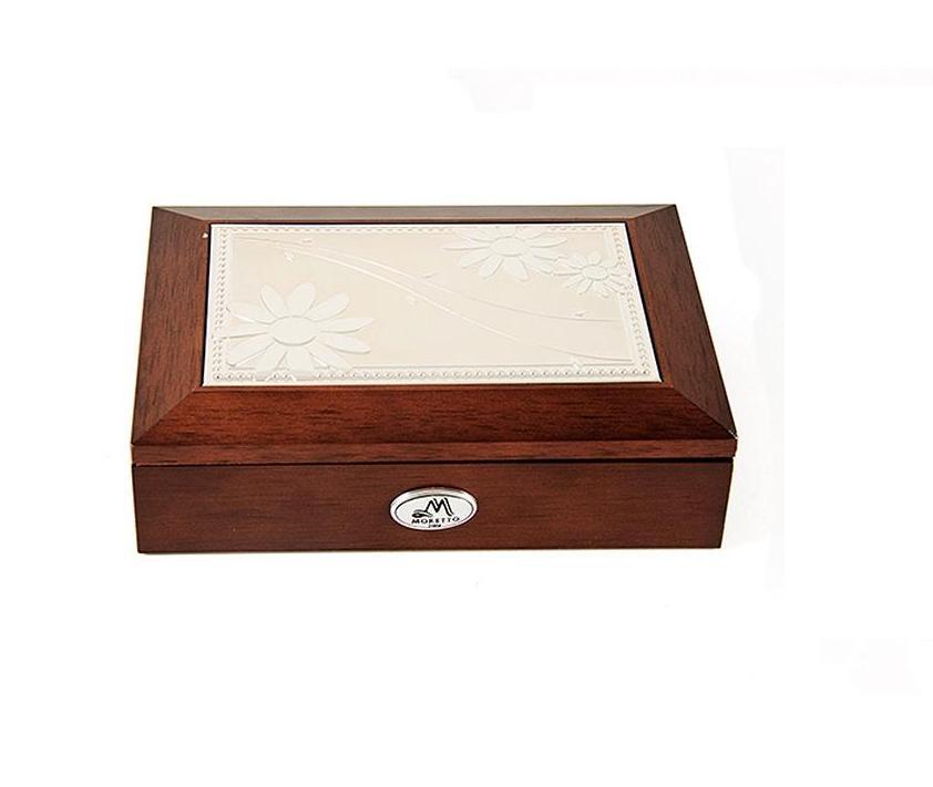 Шкатулка для ювелирных украшений Moretto, 18 х 13 х 5 см. 39834 шкатулка для ювелирных украшений moretto 18 х 13 х 5 см 139522