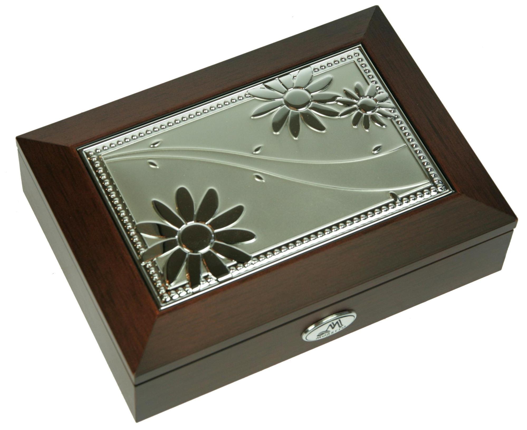 Шкатулка для ювелирных украшений Moretto, 18 х 13 х 5 см. 39849 шкатулка для ювелирных украшений moretto 18 х 13 х 5 см 139522