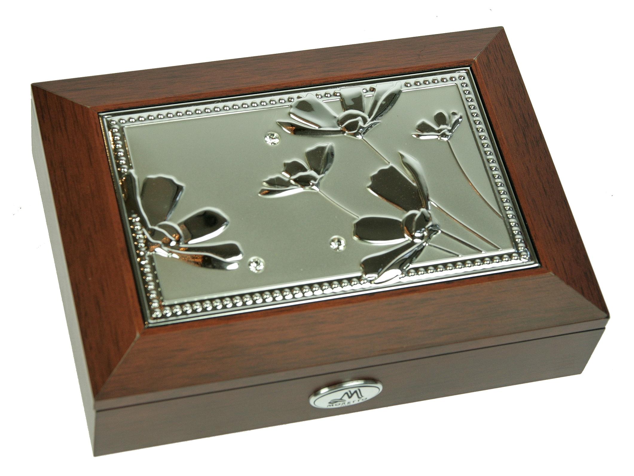 Шкатулка для ювелирных украшений Moretto, 18 х 13 х 5 см. 39850 шкатулка для ювелирных украшений moretto 18 х 13 х 5 см 139522