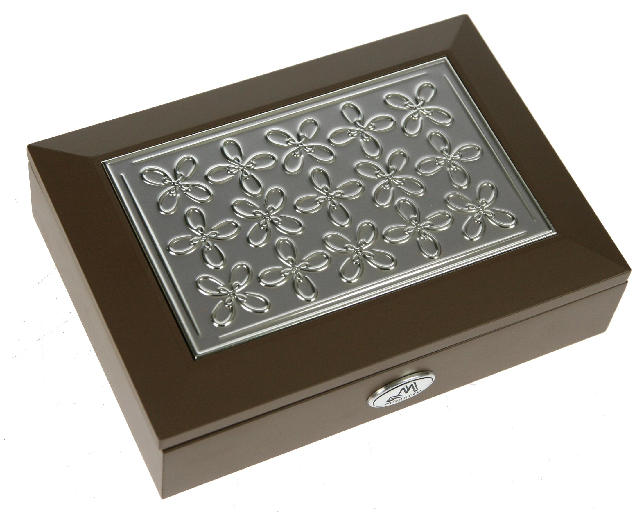 Шкатулка для ювелирных украшений Moretto, 18 х 13 х 5 см. 39941 шкатулка для ювелирных украшений moretto 18 х 13 х 5 см 139522