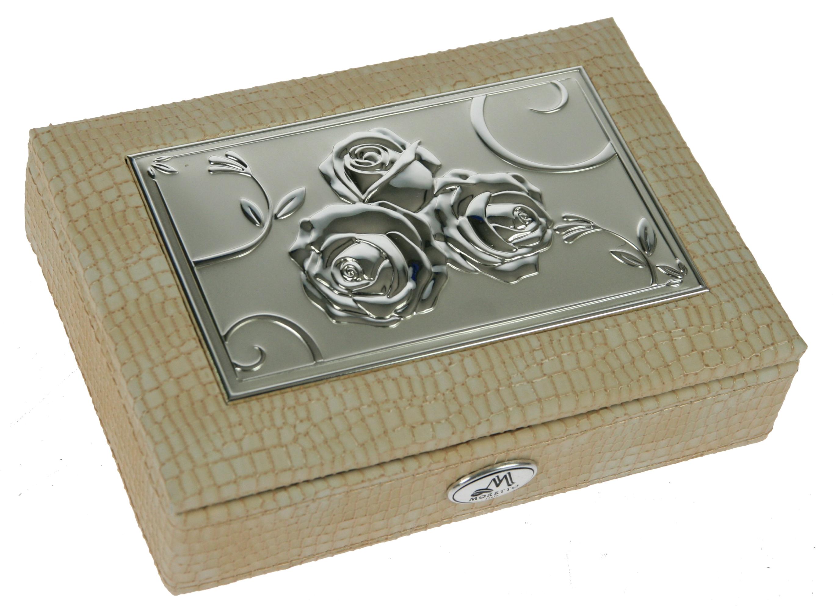 Шкатулка для ювелирных украшений Moretto, 18 х 13 х 5 см. 39944 шкатулка для ювелирных украшений moretto 18 х 13 х 5 см 139522