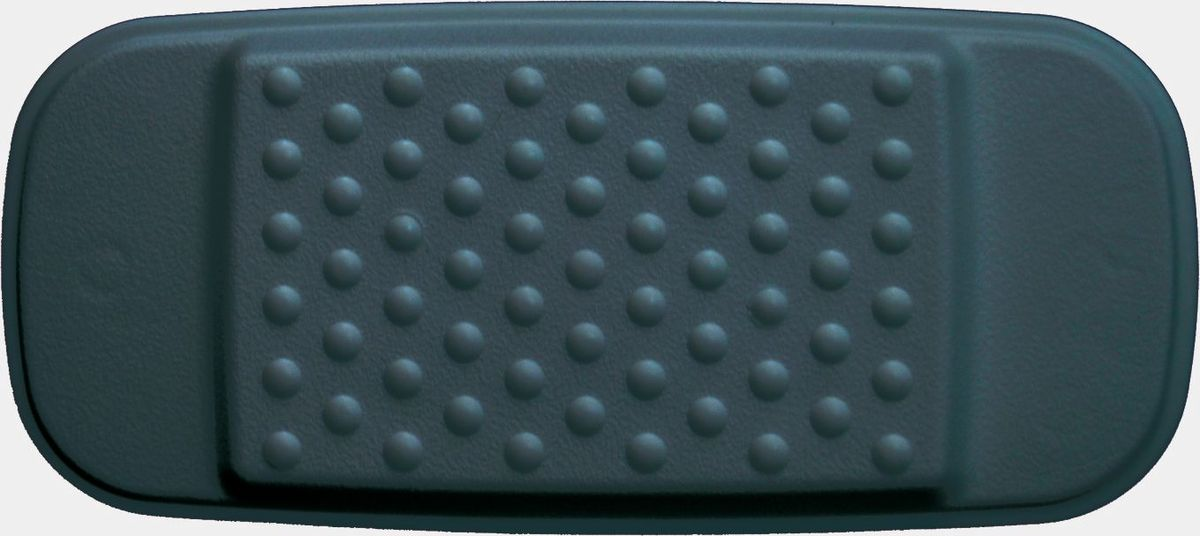 "Подушка для ванны ""Ridder"", на присосках, цвет: черный, 29 х 13,5 х 2 см"