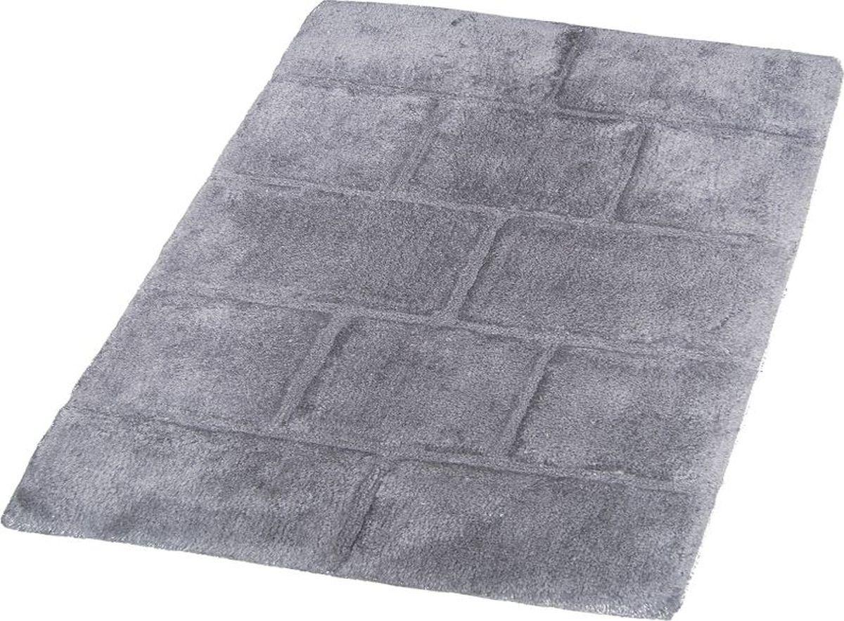 """Коврик для ванной Ridder """"Wall"""", цвет: серый, 60 х 90 см. 7041307"""