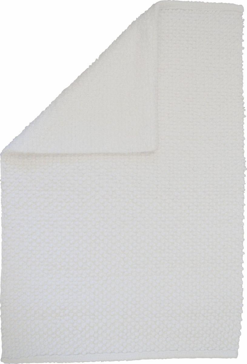 Коврик для ванной Ridder Fluffy, двухсторонний, цвет: белый, 50 х 80 см автомобильное зарядное устройство deppa usb type c 2 1a черный