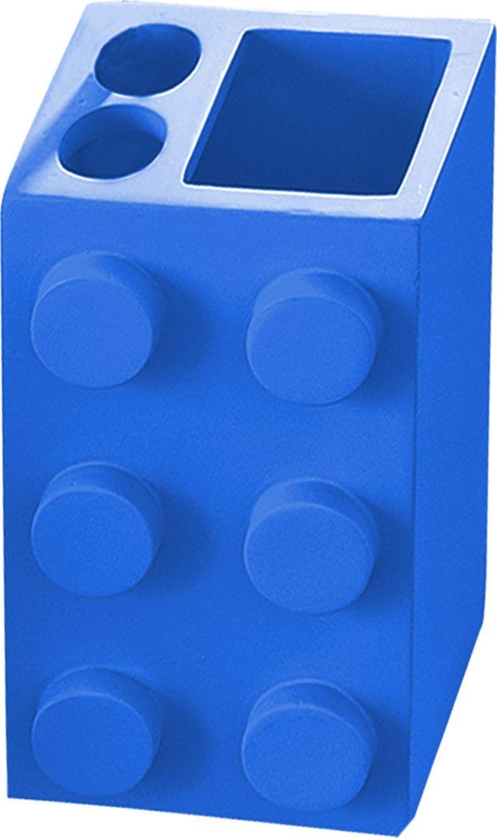 Стакан для зубных щеток Ridder Bob, цвет: синий