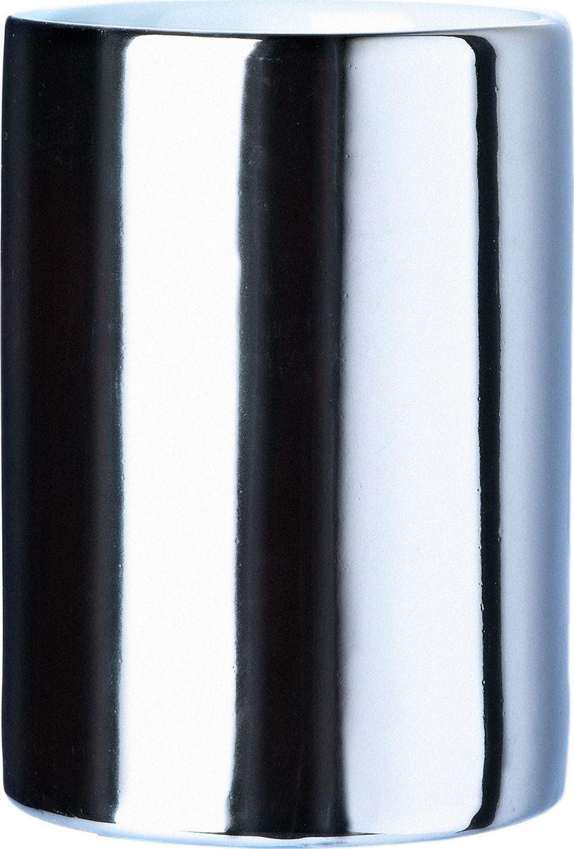 Стакан для ванной комнаты Ridder Elegance, цвет: хром стакан для ванной комнаты ridder stone цвет бежевый