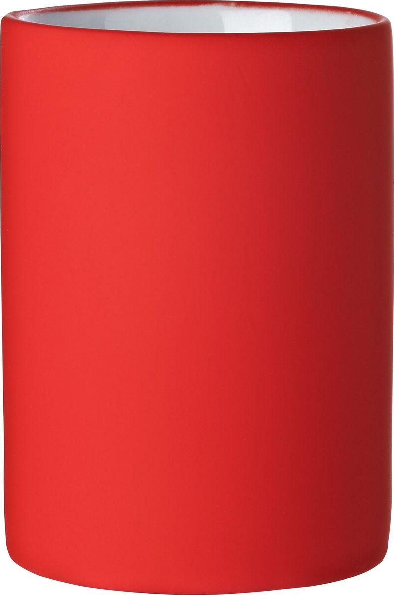 Стакан для ванной комнаты Ridder Elegance, цвет: красный стакан для ванной комнаты ridder stone цвет бежевый