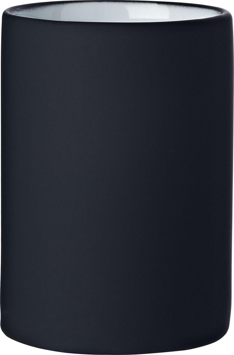 Стакан для ванной комнаты Ridder Elegance, цвет: черный стакан для ванной комнаты ridder stone цвет бежевый