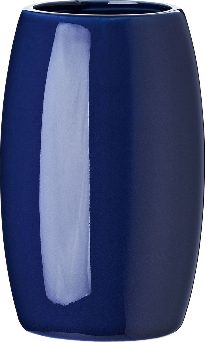 Стакан для ванной комнаты Ridder Shiny, цвет: синий стакан для ванной комнаты ridder stone цвет бежевый