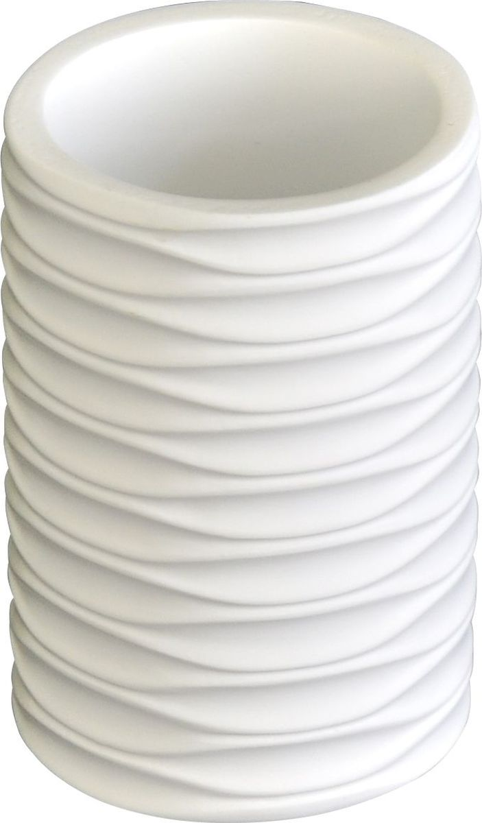 Стакан для ванной комнаты Ridder Swing, цвет: белый стакан для ванной комнаты ridder diamond цвет белый