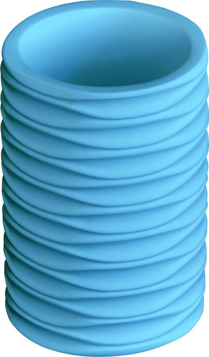 Стакан для ванной комнаты Ridder Swing, цвет: синий