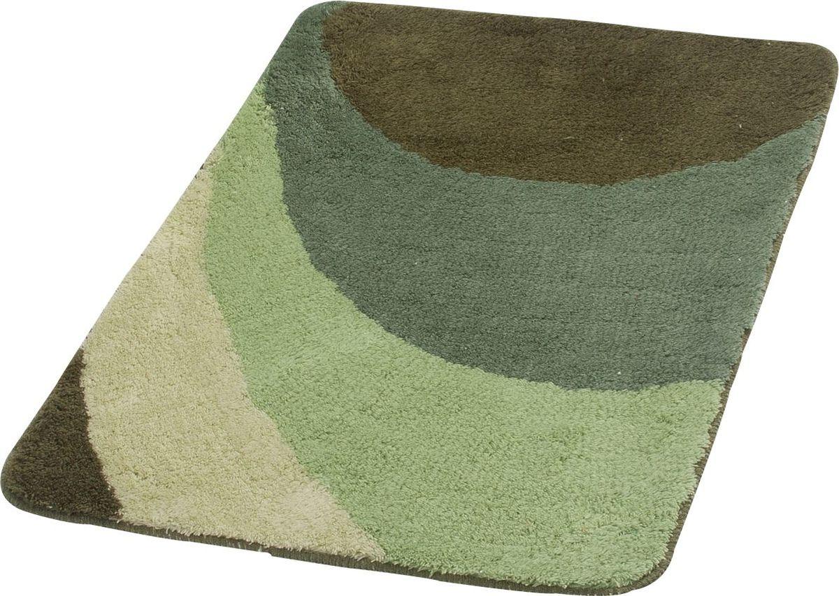 Коврик для ванной Ridder Tokio, цвет: зеленый, 60 х 90 см orange bodycon low cut v neck bikini set