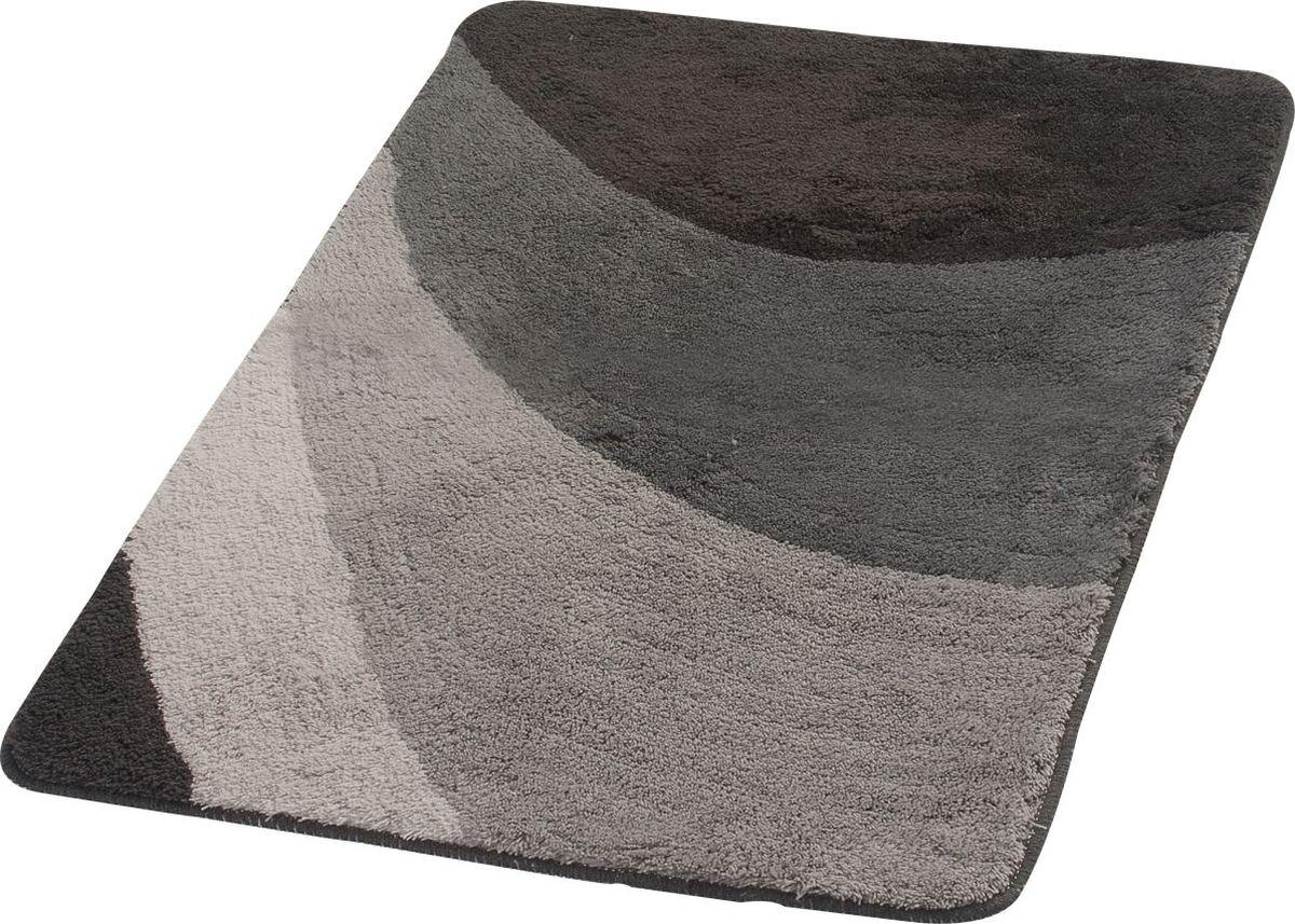 "Коврик для ванной Ridder ""Tokio"", цвет: серый, 70 х 120 см"