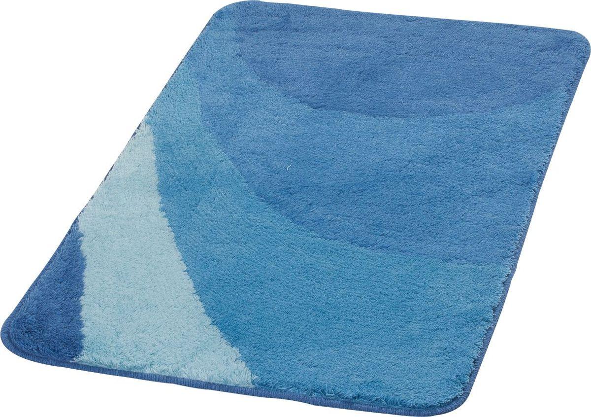 """Коврик для ванной Ridder """"Tokio"""", цвет: синий, голубой, 70 х 120 см"""