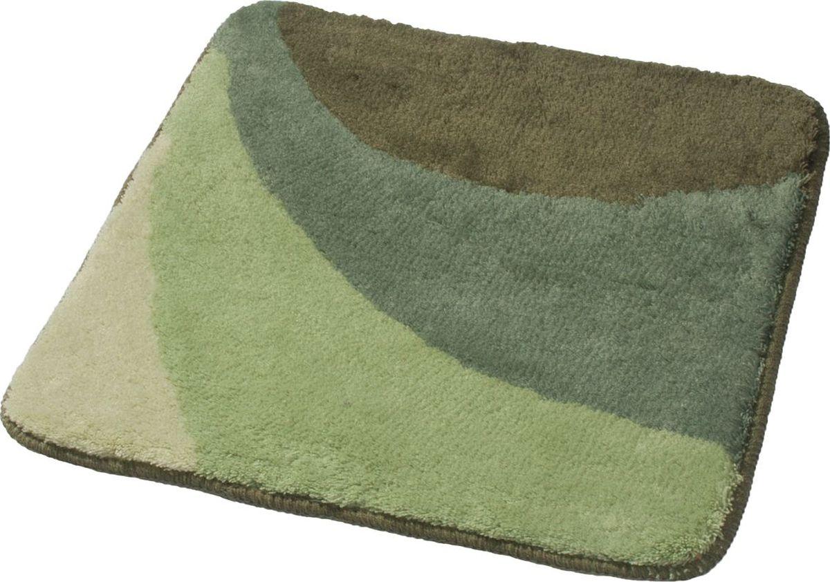 Коврик для ванной Ridder Tokio, цвет: зеленый, 55 х 50 см midea abwm612g2