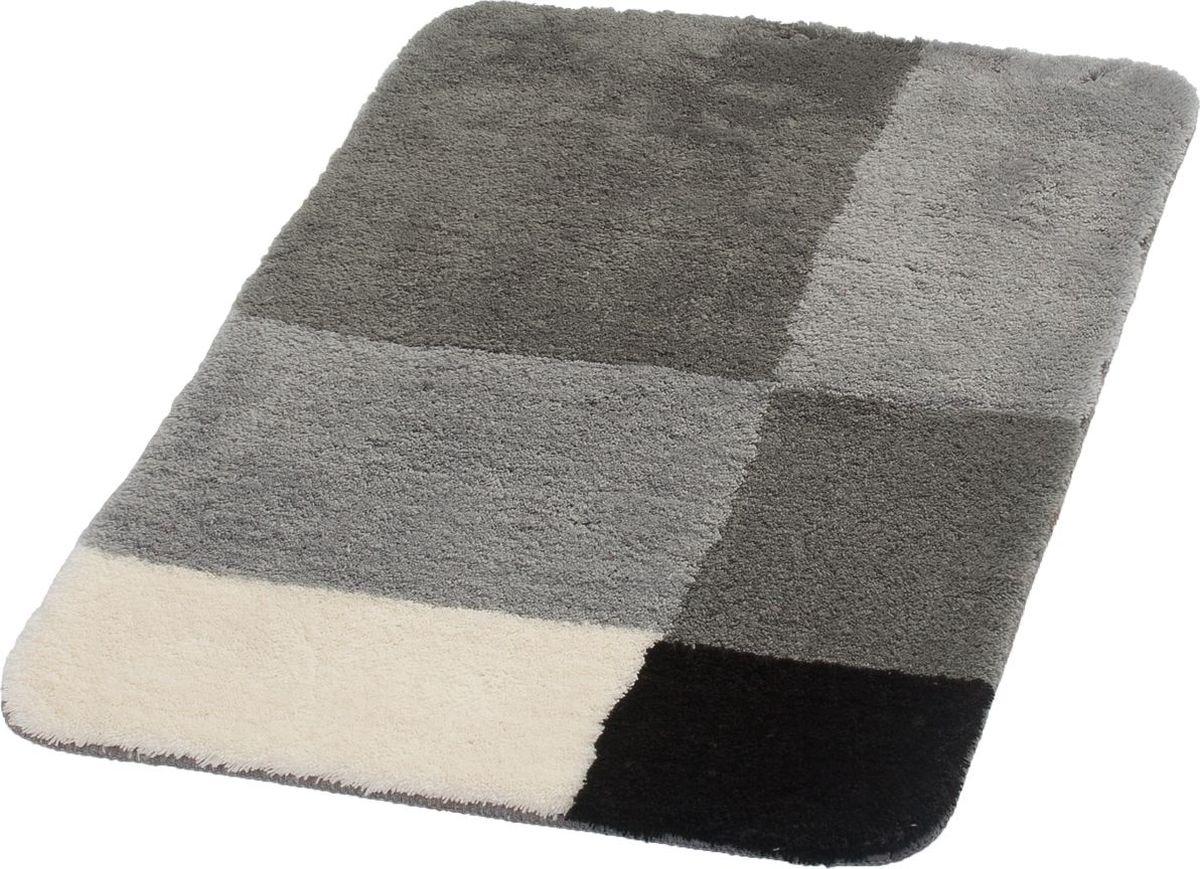 """Коврик для ванной Ridder """"Pisa"""", цвет: серый, 70 х 120 см"""