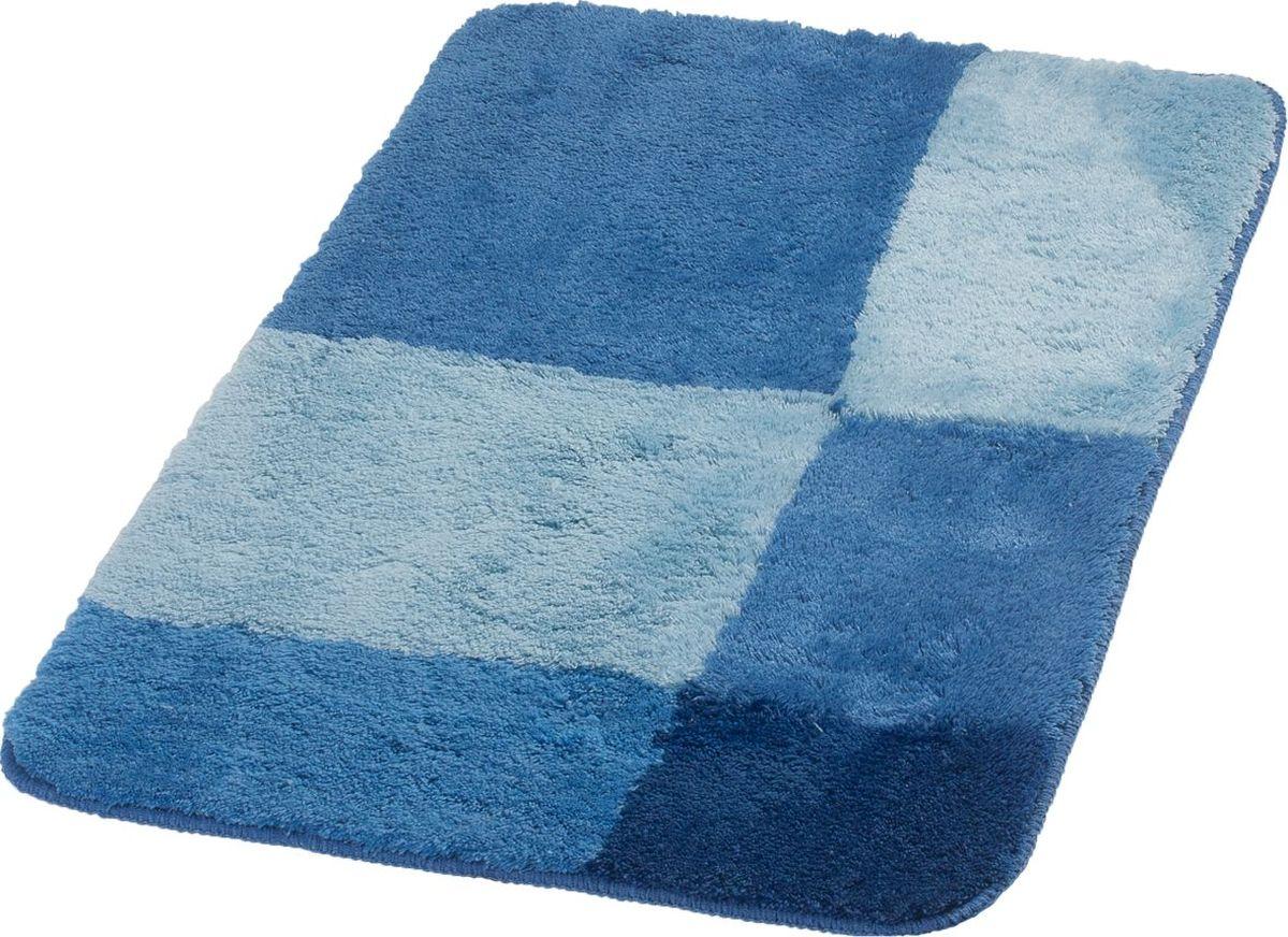"""Коврик для ванной Ridder """"Pisa"""", цвет: синий, голубой, 70 х 120 см"""