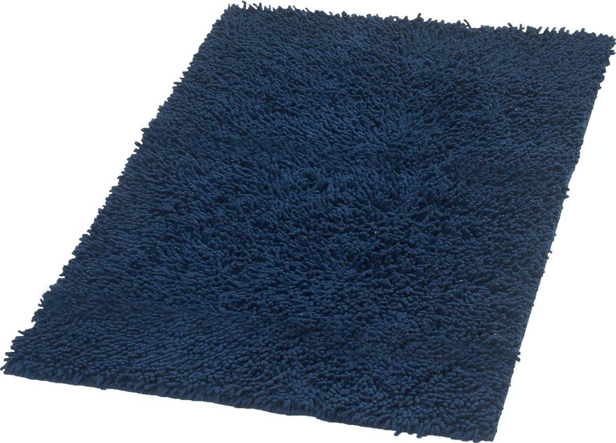 "Коврик для ванной Ridder ""Dakar"", цвет: синий, голубой, 70 х 120 см"
